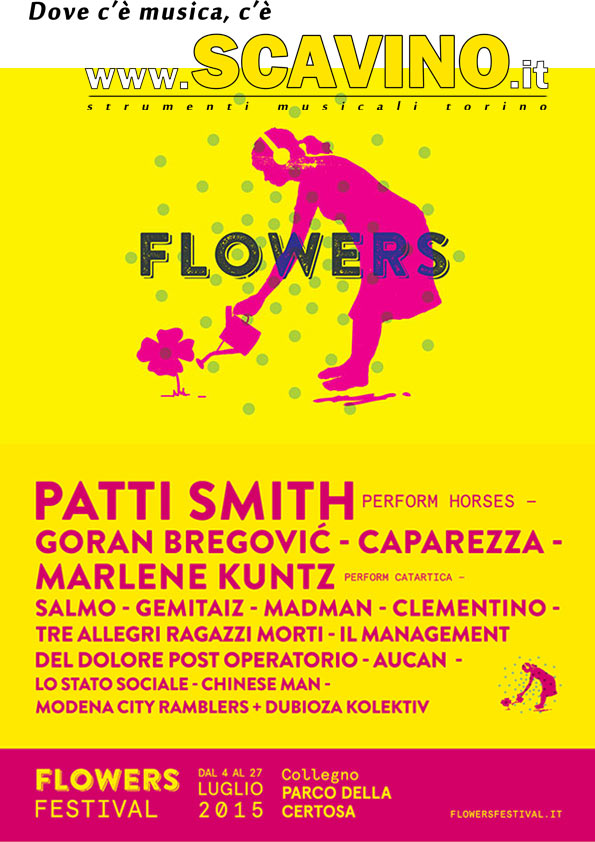 Flowers Festival Collegno 2015