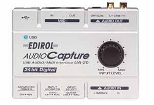 Musical Instruments & Gear 20 The Cheapest Price Interfaccia Midi Usb Edirol Ua Pro Audio Equipment