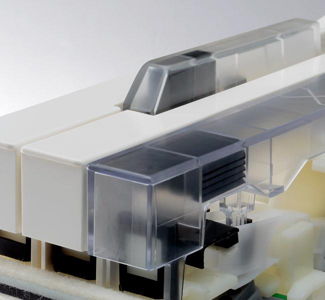 kawai cn25 palissandro pianoforte con mobile 3 pedali. Black Bedroom Furniture Sets. Home Design Ideas