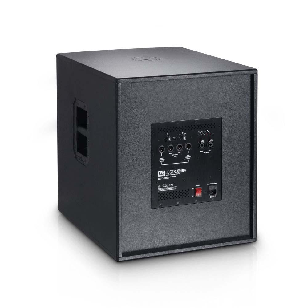 Sub attivo 15 pollici 1600 watt gtsub15a ld systems - Subwoofer attivo casa ...