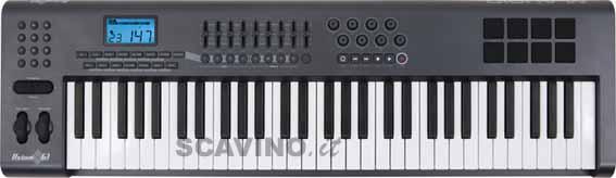 M audio axiom 61 axiom61 master keyboard 61 tasti con for Yamaha cs1x keyboard