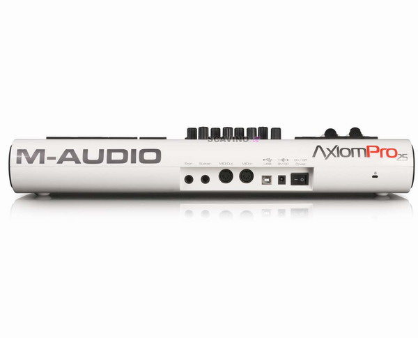 avid m audio axiom pro 25 master keyboard usb midi. Black Bedroom Furniture Sets. Home Design Ideas
