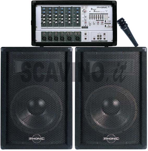 Phonic 640powerpack 640 Powerpack Mixer Amplificato