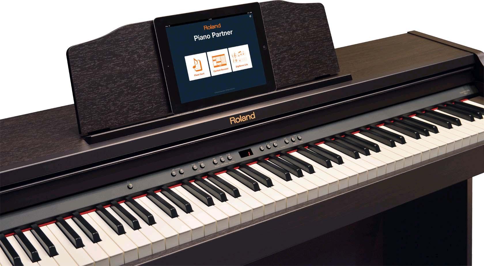rp401r rw piano roland con accompagnamenti finitura. Black Bedroom Furniture Sets. Home Design Ideas