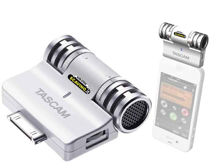 Im2 Tascam Microfono Esterno Per Iphone E Ipad