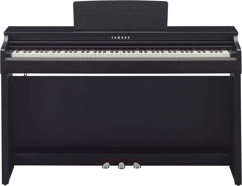 yamaha clp525 b pianoforte digitale clavinova clp525b nero satinato. Black Bedroom Furniture Sets. Home Design Ideas