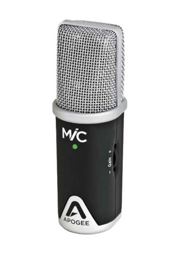 Apogee Mic 96k Microfono USB per iPhone, iPad e Mac