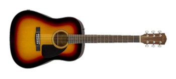 Fender CD60 Sunburst Chitarra Acustica finitura Sunburst