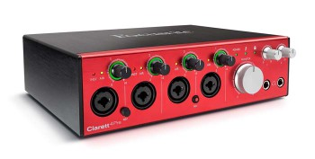 Focusrite Clarett 4Pre Interfaccia Audio Thunderbolt 10In / 4 Out