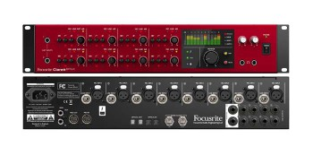 Focusrite Clarett 8Pre X Interfaccia Audio Thunderbolt 26In / 28 Out