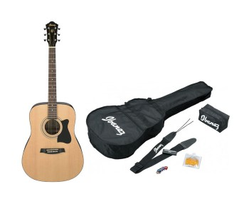 Ibanez V50njp-Nt Natural Jam Pack Accessori Inclusi