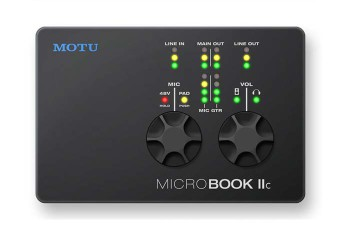 Motu MicroBook IIc Scheda Audio USB per Mac, PC o iPad