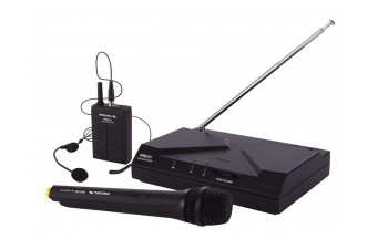 Proel WM101Kit Microfono wireless archetto e mano