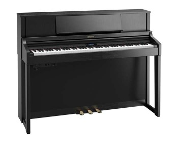 Roland LX7 CB Contemporary Black Pianoforte Digitale Verticale