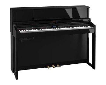 Roland LX7 PE Polished Ebony Pianoforte Digitale Verticale