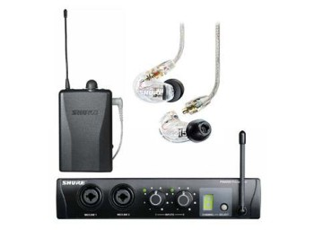 In ear monitor Shure PSM200 monitor in cuffia EP2TR215CL-H2