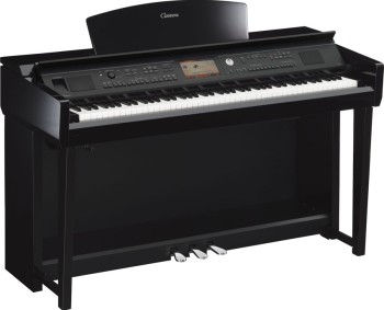 YAMAHA CVP705 PE pianoforte digitale NERO Lucido